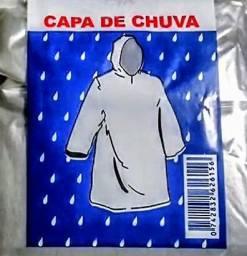 Capa de chuva pacote com 100 unidades