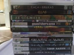 Jogos de Xbox destravados 5 reais