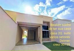 Casas 2 Qt. suíte setores Goiânia é região.