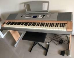 Piano Yamaha Dgx 620 - Completo - Tudo 100%
