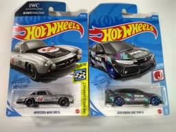 Hot Wheels Pack mercedes benz 300sl e 2018 honda civic type R