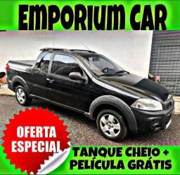 TANQUE CHEIO SO NA EMPORIUM CAR!!!FIAT STRADA 1.4 CE ANO 2016 COM MIL DE ENTRADA
