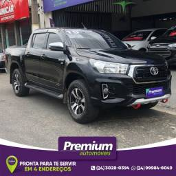 Toyota Hilux Sr 2019 Flex Gnv Preta Pneus All Terrain