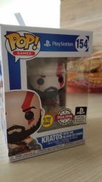 Funko Pop God of War 154 Kratos With The Blades Of Chaos Special Edition