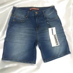 Bermuda Jeans Feminina Sommer