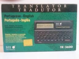 Tradutor eletrônico de línguas Pouco usado, na embalagem, com manual