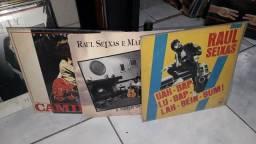 3 lps RAUL SEIXAS disco de vinil