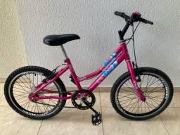 Bicicleta aro 20 feminina em ótimo estado de conservação