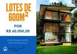 Para casas de veraneio e moradia (bt) lotes a partir de 600m²