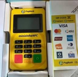 Maquina de Cartão Minizinha NFC Bluetooth