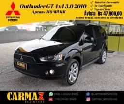 Outlander GT V6 3.0 4X4 2010 Com Pacote Premium Interior em Caramelo