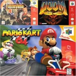 Pack com mais de 50 jogos de Nintendo 64 pra computador