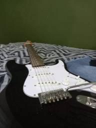 Kit Guitarra e amplificador