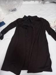 Casaco de frio marrom G