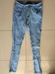 Calça Jeans claro Tam 38
