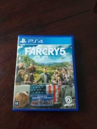 Far Cry 5 Mídia Física Ps4 Perfeito Estado