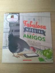 Livro A FABULOSA MÁQUINA DE AMIGOS
