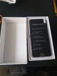 Umidigi A9 Pró Novo na caixa.