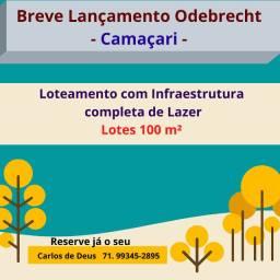 Breve Lançamento Odebrecht : Loteamento em Camaçari. Lotes Residenciais