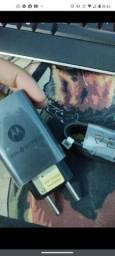 Carregador turbo rapido original 45w Motorola cabo C -