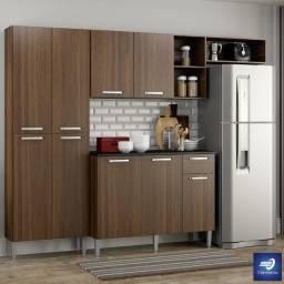 Cozinha com Balcão 9 Portas e 1 Gaveta #FreteGRÁTIS* #Garantia #Lacrado