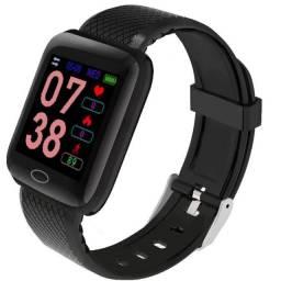 Smartwatch D13 116 Y68 plus Pulseira Colorida