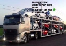 Transporte veiculos em caminhao cegonha para todo Brasil com seguro total