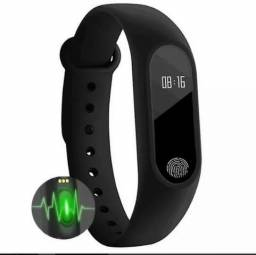 Relógio Medidor Inteligente Pulso Freqüência Cardíaca M2