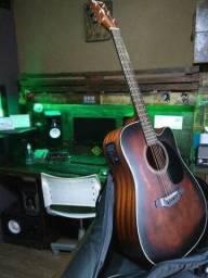 Violão Crafter Sunburst Marrom Fosco (novo) Série (LMT)
