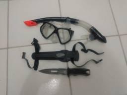 Equipamento para caça submarina mergulho