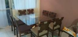 Mesa Jacaúna 8 lugares 1,50 X 1,50 + 8 cadeiras