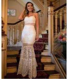 Vestido longo branco Doce Maria Dream of Paris