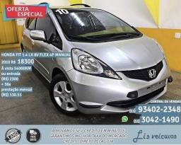 Honda fit 1.4 cinza flex manual 2010 R$ 18.345,00 54099km - 2010