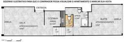 Apartamento Glória 40m²