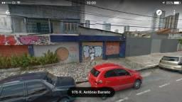 Terreno para alugar na Antonio Barreto próximo da Doca com 1.548m2, Umarizal, Belém, Pará