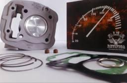 Kit Motor Cg Titan/bros160p/190cc 4mm Pistão Max