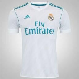 Troco ou vendo camisa original do real madri (nova) be42a65d12be0