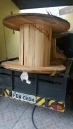 Carretel bobina de madeira