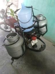Moto pronta transporte gás e água - 2008
