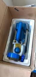Lote de equipamentos para manutenção e instalação de ar condicionado