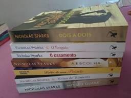 Kit de 7 livros Nicholas Sparks