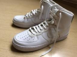Tênis Air Force 1 MID '07 Nike Branco - Bom Estado