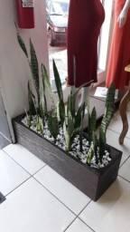 Floreira concreto - Rústica