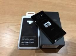 Samsung Galaxy Note 9 black. zero. nota e garantia. troco