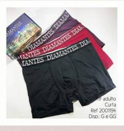 Kit de Cuecas Diamantes lingerie tamanho GG.