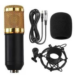 Microfone condensador BM800 NOVO!!