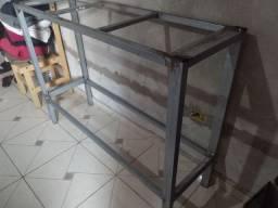 Base de Metalon 1,35x42altura 1,00
