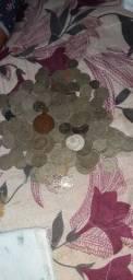 Vendo moedas antigas 400 reis em grande quantidade..
