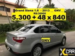 Grand Siena 1.6 - 2013 _ GNV _ Completo _ 2020 Ok - 2013
