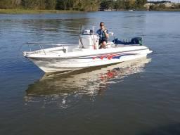 Lancha Turbomar Fishing 19 pés 90 HP